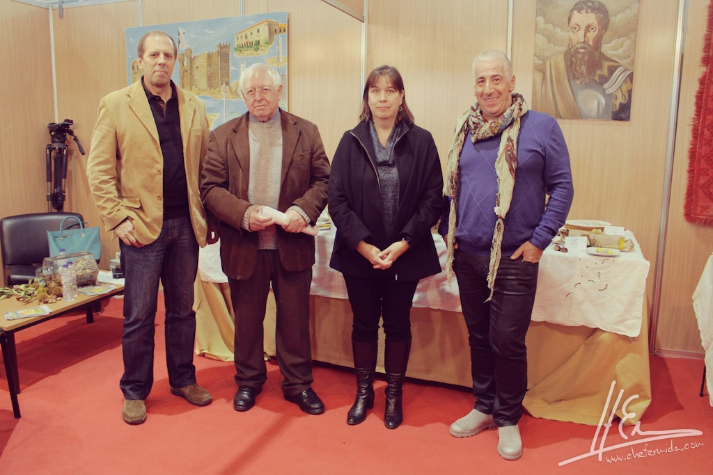 Chef Hernâni Ermida com os restantes jurados