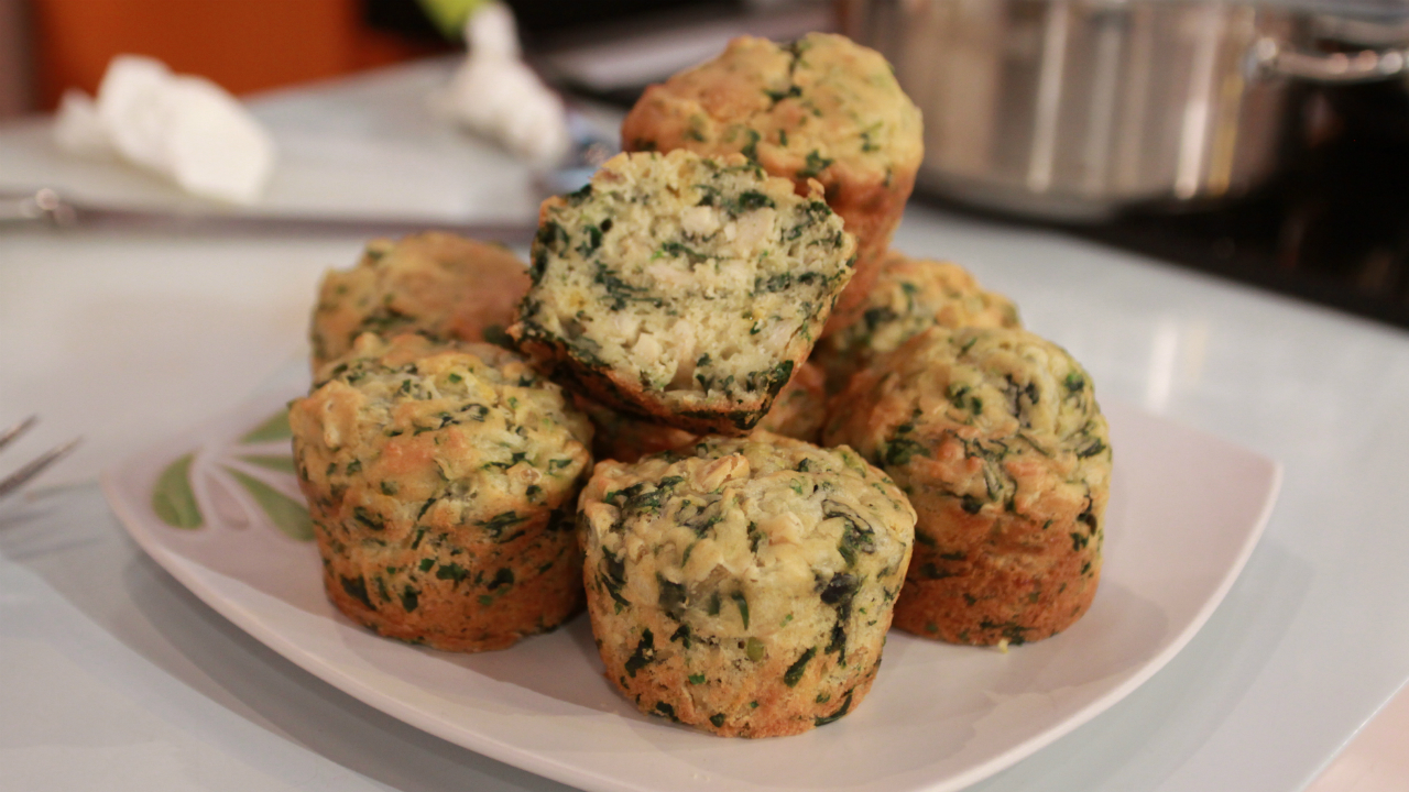 muffins-espinafres