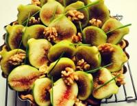 Tarte de figos frescos com requeijão